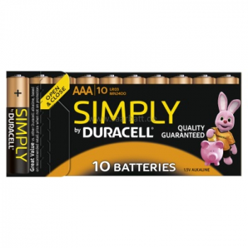 DURACELL Simply, AAA, 10er Pack
