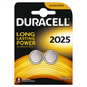 DURACELL Knopfzelle, 2025, 2er Pack