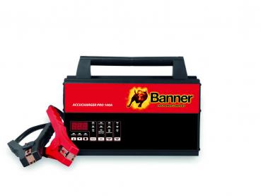BANNER Accucharger Pro 100A - Profi-Ladegerät mit Flash-Modus