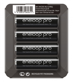ENELOOP PRO, AA, 2500mAH, BK-3HCDEC4BE, 4er BOX