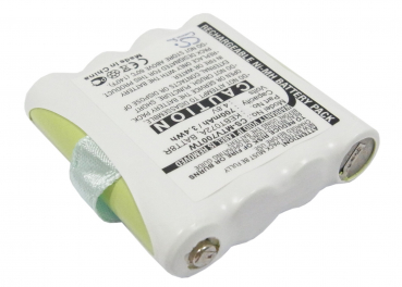 Funkgeräteakku für MOTOROLA - NIMH - 4,8V - 700mAh