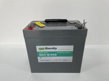ETERNITY - G04 12043 - 12V - 55Ah - GEL-Blockbatterie