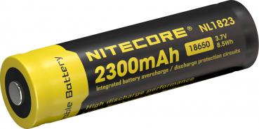 Nitecore 18650 Li-Ion Akku, 2300mAh, NL1823