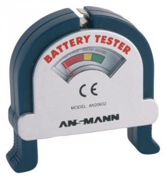 ANSMANN Batterietester für Knopf- und Rundzellen