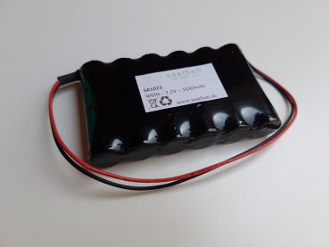 Nachbauakku für VISONIC - NIMH - 7,2V - 1650mAh