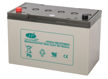 LANDPORT, GEL, LPCG12-100T11, 12 V - 97 Ah