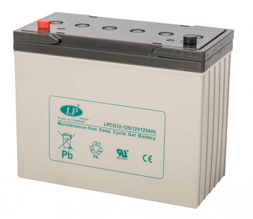 LANDPORT, GEL, LPCG12-125T11, 12 V - 131,4 Ah