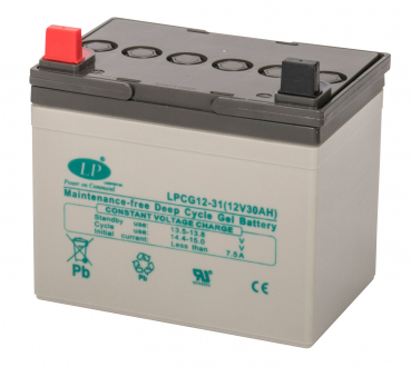 LANDPORT, GEL, LPCG12-31T5, 12 V - 30 Ah