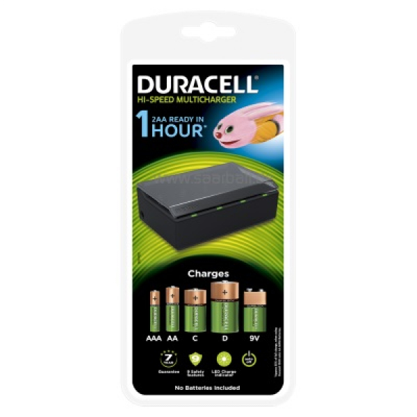 DURACELL Hi-Speed Multi-Charger, CEF22
